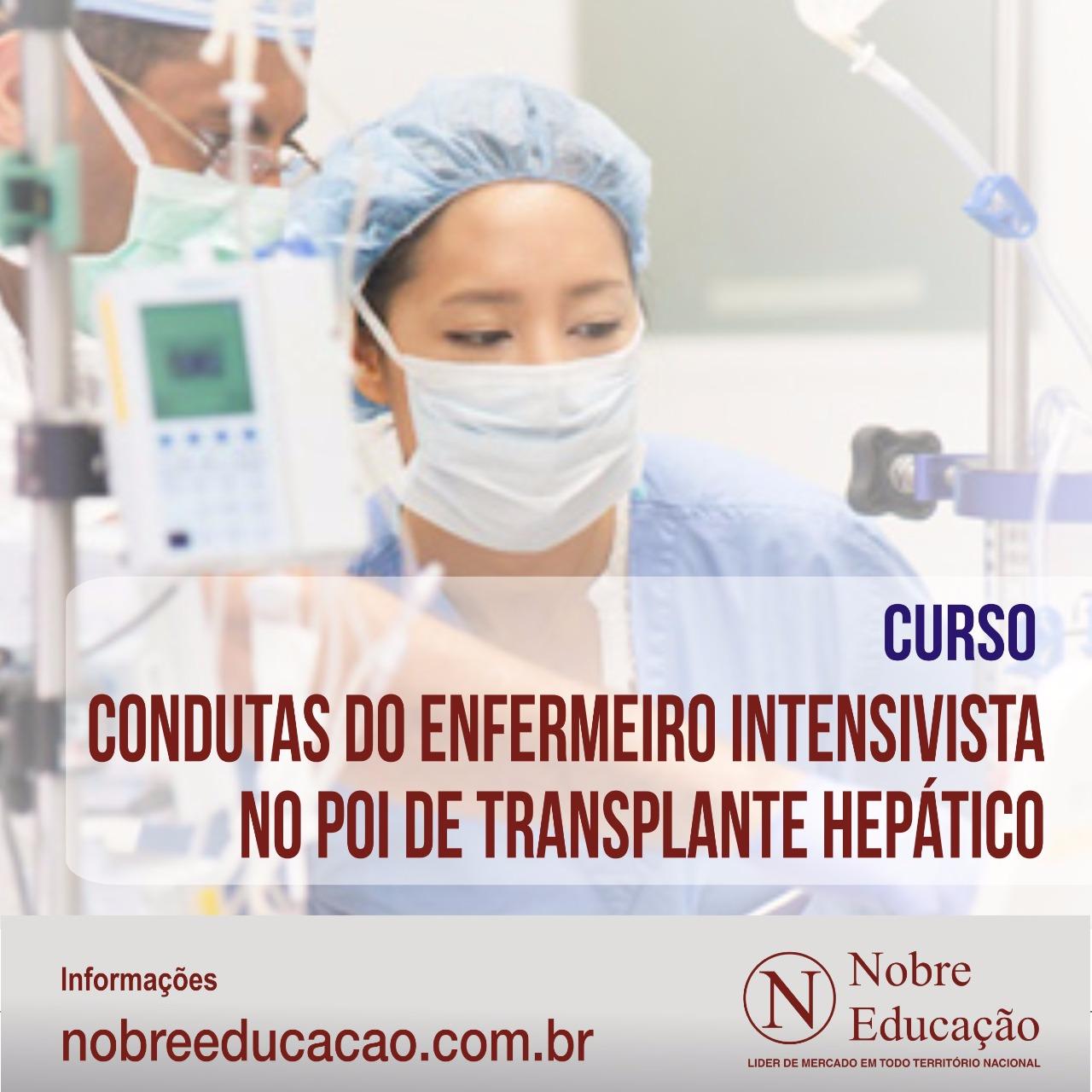 Conduta no Pós Operatório Imediato de Transplante Hepático