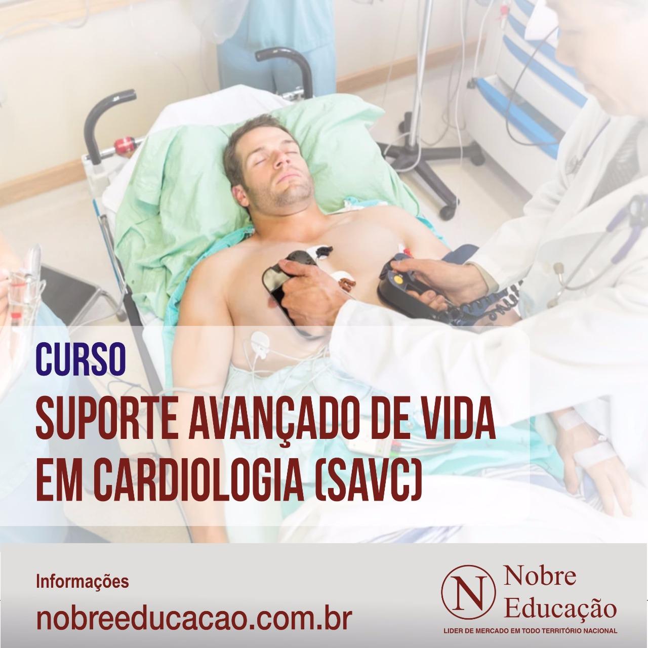 Suporte Avançado de Vida em Cardiologia (SAVC)
