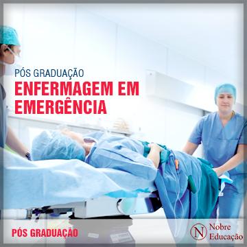 Pós-graduação em Enfermagem em Emergência