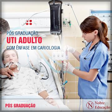 Pós-Graduação em UTI Adulto com Ênfase em Cardiologia